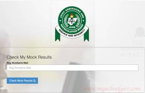 how to check JAMB mock exam result