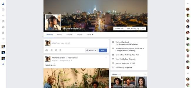 Facebook Windows app