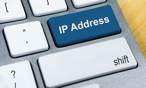 ip address on keyboard