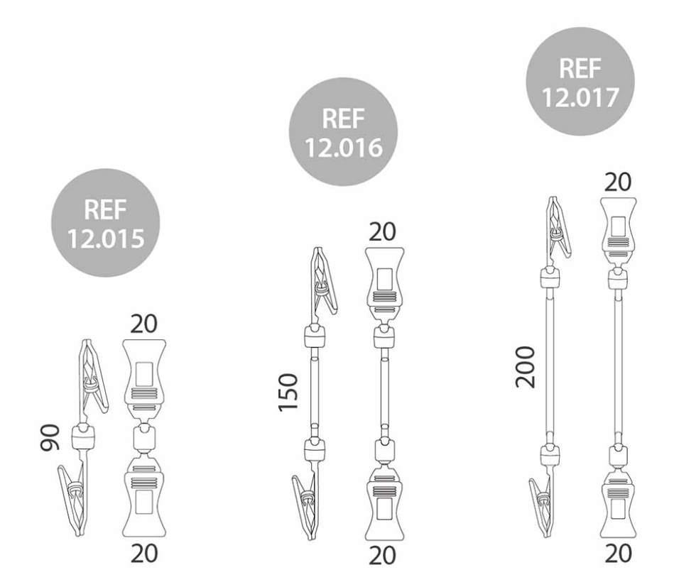 porta-precio-pinza-20mm-c1 medidas