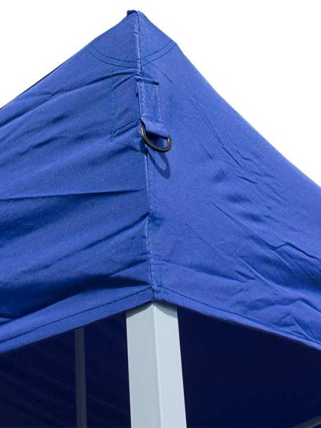 Carpa plegable de acero 3000 x 6000 mm esquina