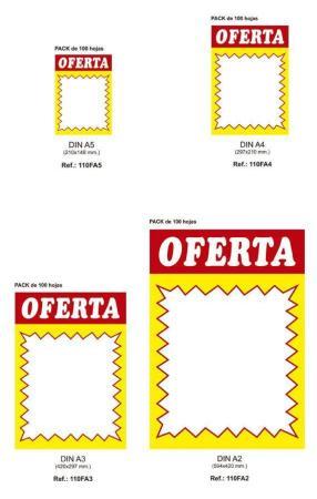 Cartel Oferta imagen 2