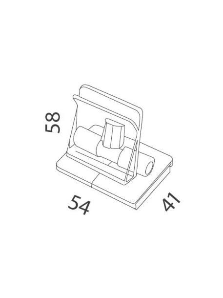 Clip magnético medidas