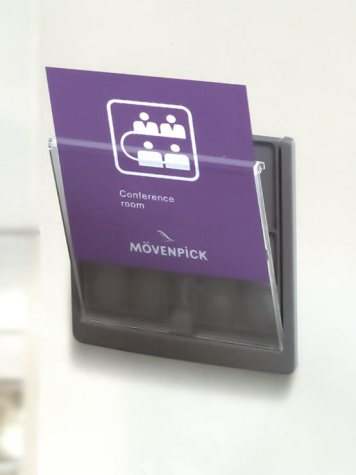 Porta letreros para pared 2020