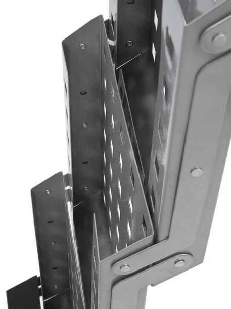 PortaFolletos Plegable Portátil detalle estantes