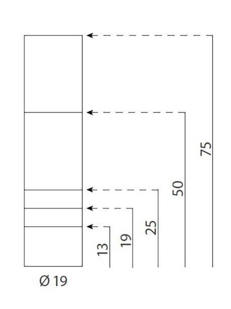 Soportes metálicos para letreros medidas 19