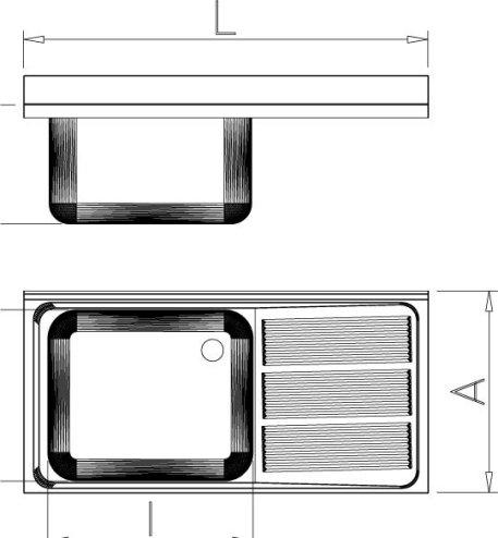 Fregadero Inox Dos Cubetas con Escurridor imagen 2