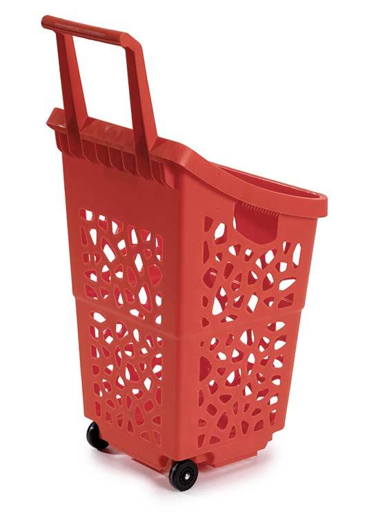 cestas para supermercado parte trasera