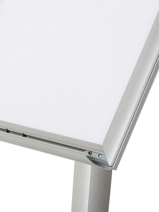 Porta Menú LED marco clic
