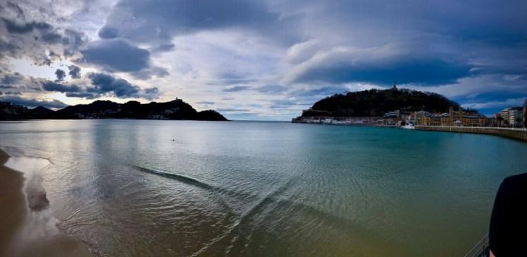 Bucht von San Sebastian