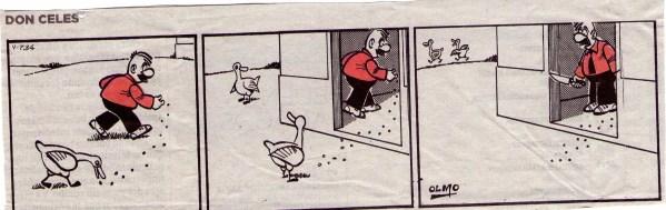 Don Celes engaña al pato hasta que éste encuentra a una amiga