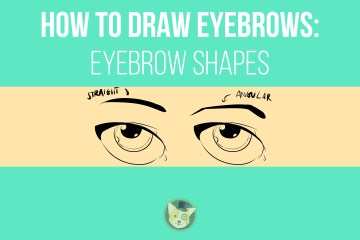 How to Draw Eyebrows - Eyebrow Shapes by Don Corgi