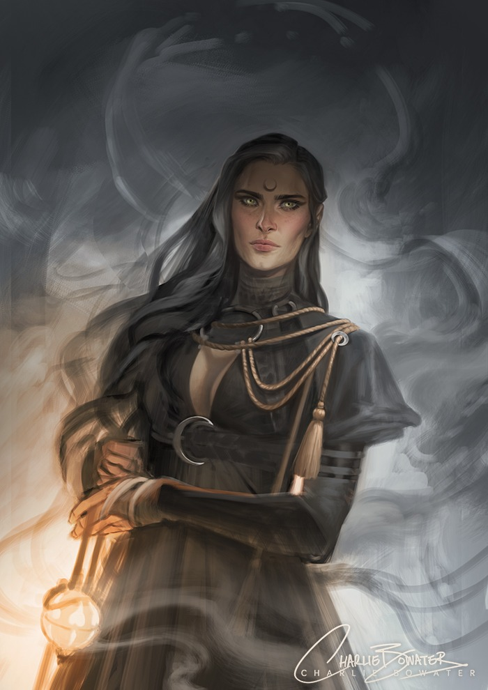 Celestial Sketch by Charlie Bowater on Deviantart, Inspirational Artist - Don Corgi