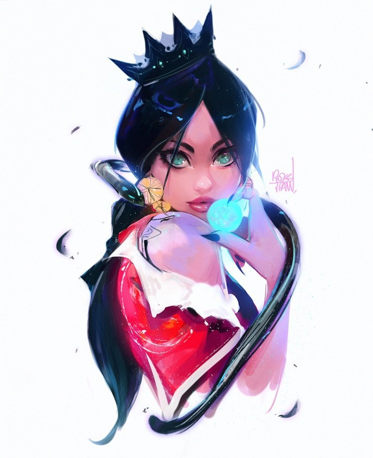 Happy Halloween by Ross Tran aka Ross Draws on Deviantart - Don Corgi Inspirational Tuesday