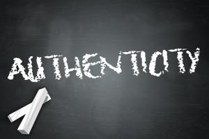 authenticity at work and in customer service