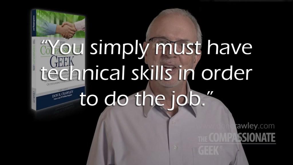 Tech Skills or People Skills