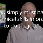 Tech Skills or People Skills