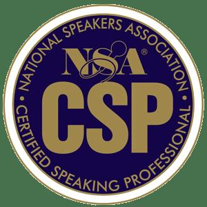 National Speakers Association Certified Speaking Professional