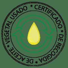 Certificado de aceite usado