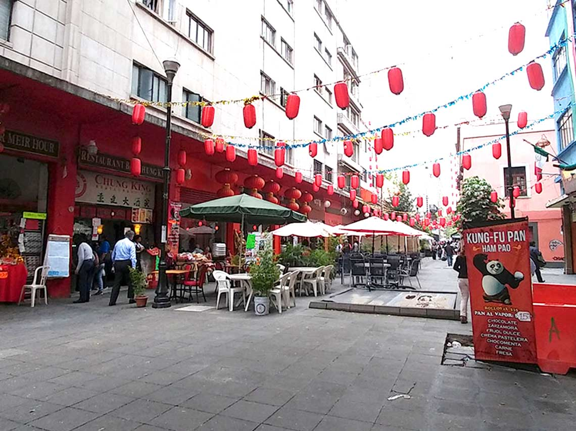 Barrio chino en la ciudad de mexico