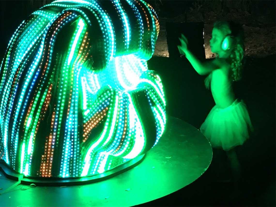 Ciudad de México y Arte Digital, Luz e Imaginación