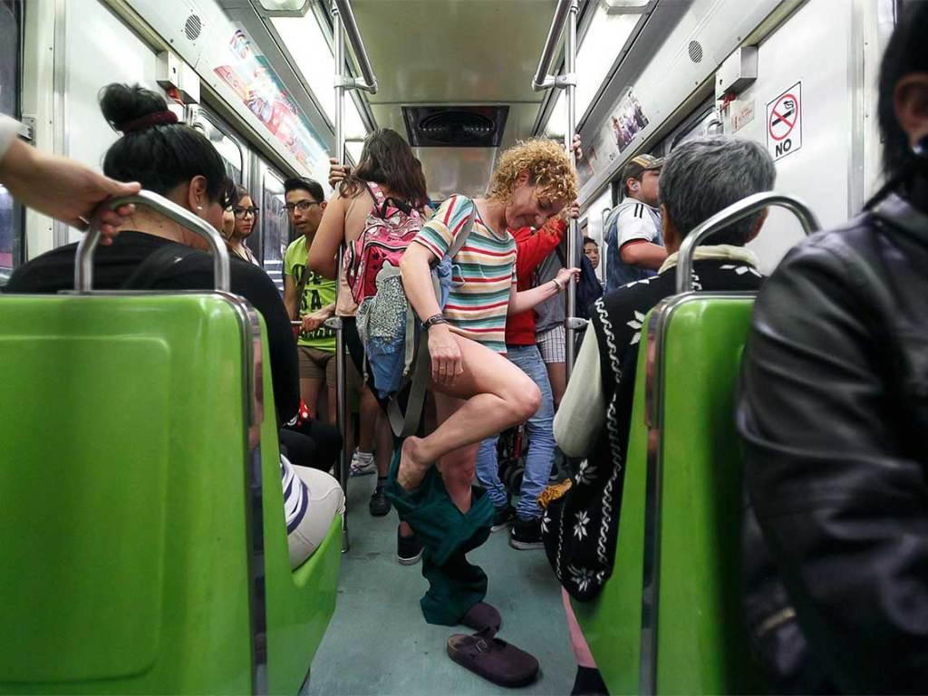 metro sin pantalones 2017
