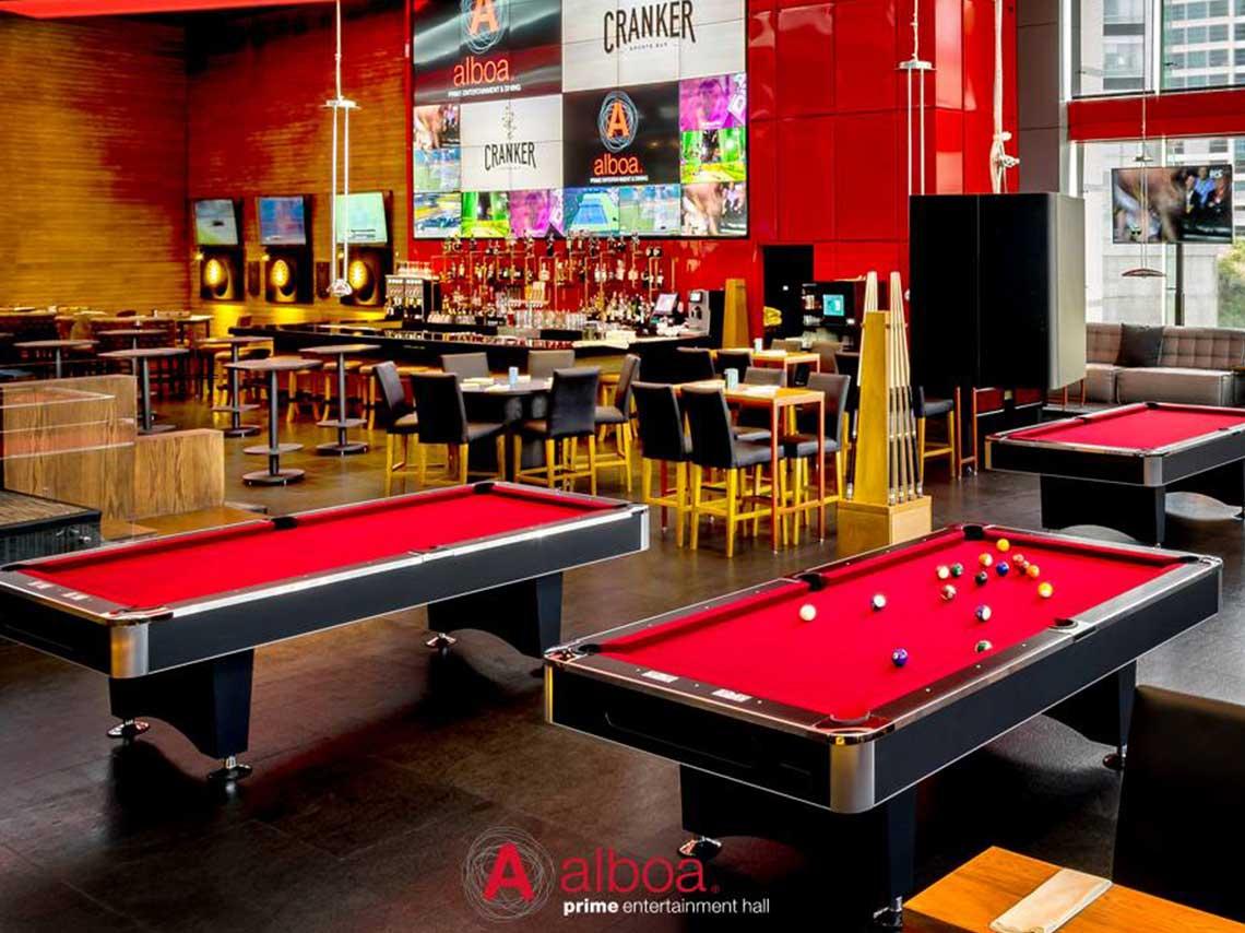 Billares en cdmx bares con mesas para jugar d nde ir for Mesas de billar modernas