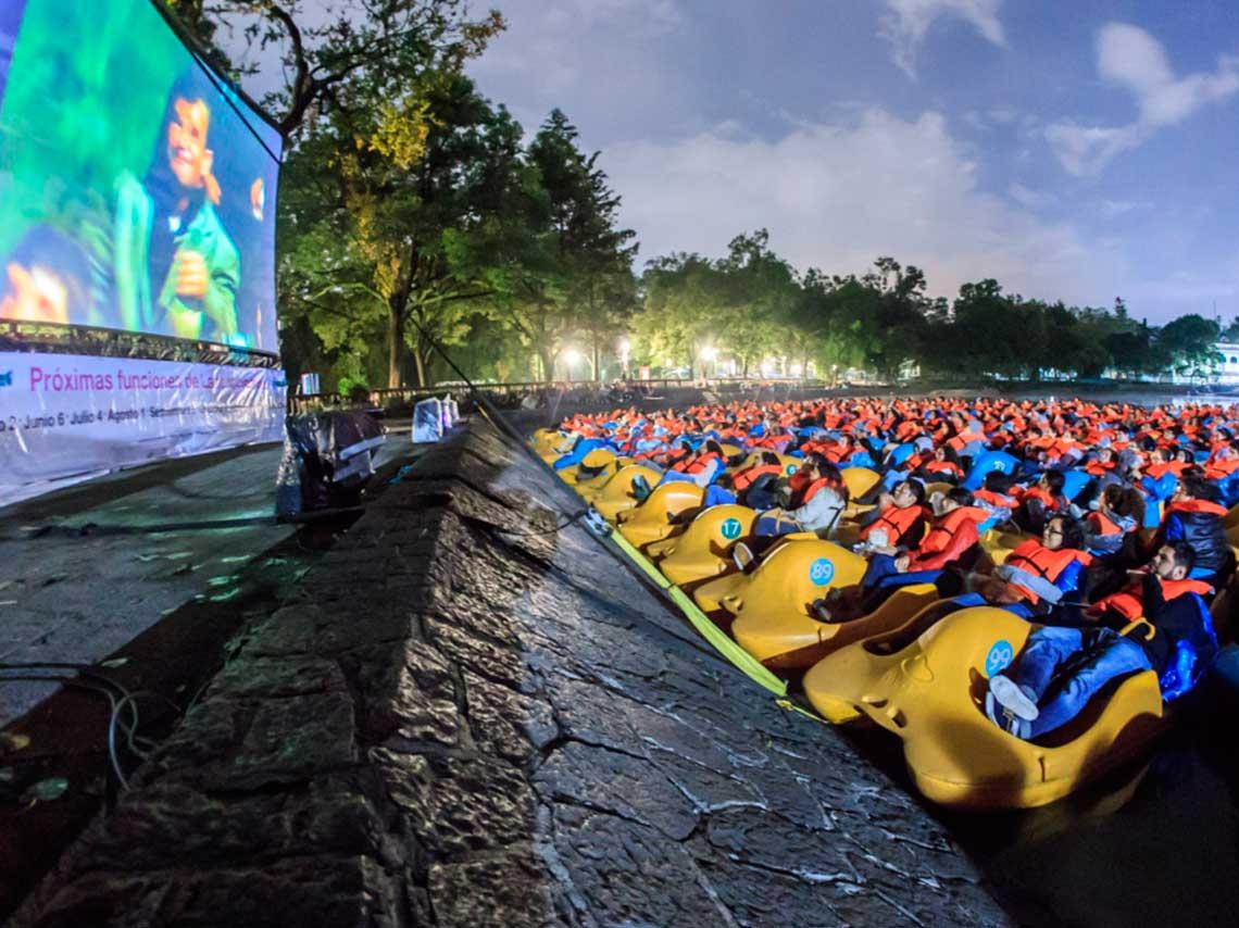 Cine al aire libre en cdmx en una lancha o azotea d nde ir for Cartelera cinepolis cd jardin