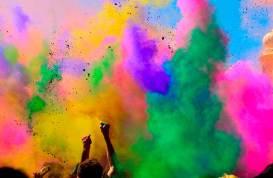 Holi Color Fest en Pachuca