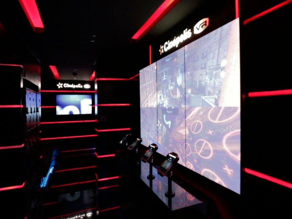 ala de videojuegos de realidad virtual