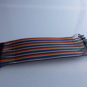 Arduino 20cm Maschio TO Femmina Cavi Solderless Jumper Breadboard Wires (40-Cavo Pack)