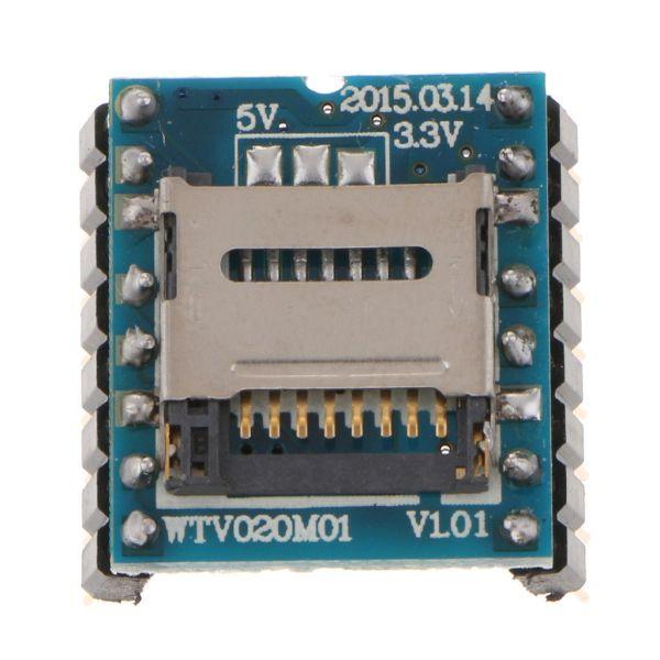 WTV020-SD Arduino U-Disk audio player MP3 TF SD card Modulo Suono