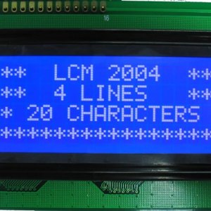 2004 LCD 2004A LCD, the LCD 2004 LCD Modulo, 5V blue Schermo 20X4 LCD