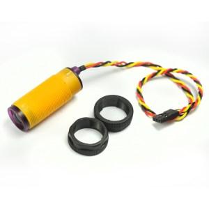 tunable E18-D80NK, Infrarossi Evitamento Ostacolo Sensore, 3-80cm Regolabile, proximity Pulsante, smart car
