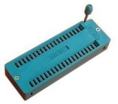 40P locking, IC Block, 40P loose seat, 40PIC test socket chip base, IC socket