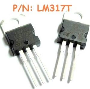 4 Pezzi LM317T IC Circuiti Integrati