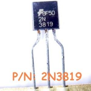 4 Pezzi 2N3819 IC Circuiti Integrati