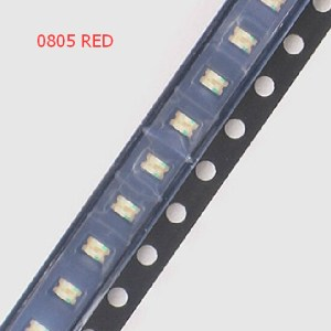 20 Pezzi 0805 Red SMD LED, LED red light-emitting Diodo, 3K/Reel