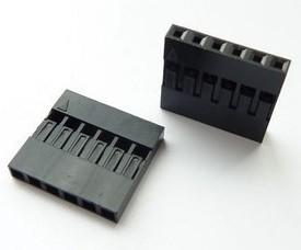20 Pezzi 6P DuPont head , Spaziatura 2.54MM DuPont plastic shell, plugs