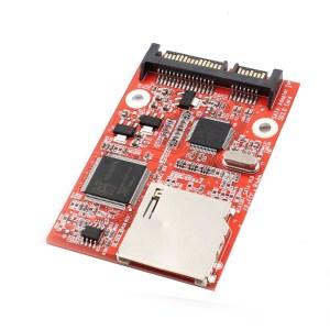 Upgrade to SATA Adattatore High Speed SD dual-chip high-speed solid-state drive KTC FC1307A JM20330