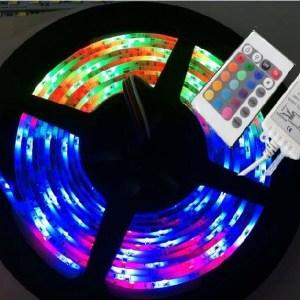 Impermeabile RGB LED tape 12V3528RGB 60unit/m 5M/Reel include the controller