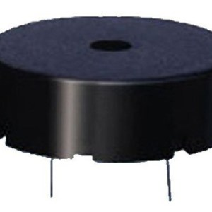 Piezo Buzzer Size 22x8.5mm 30v 4000hz Black Case