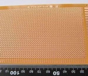 13*25CM Universal Single Side Copper Panel Prototipo PCB Board