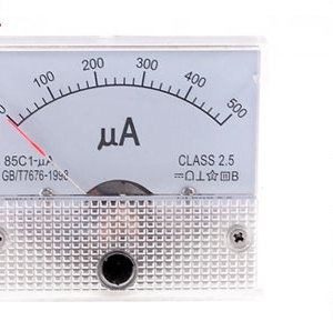 85C1-UA DC 0-500uA Analogico Panel Meter Amperometro Gauge