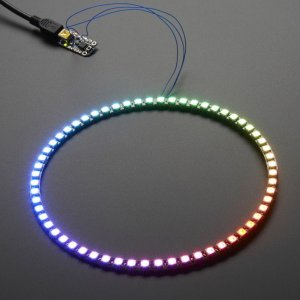 Neopixel 60 WS2812 5050 RGB LED Ring