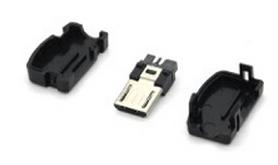 5 Pezzi Micro USB OTG Socket
