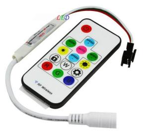 WS2811 LED Strip 12V IR Remote