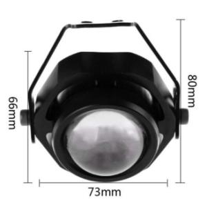 10W-12V 10W 700lm 6500K LED White Light Mini Spotlight