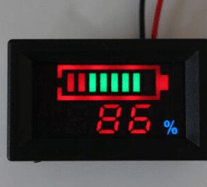 Indicatore di carica per elementi litio YB27VE24V 7 series