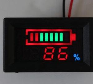 Indicatore di carica per elementi litio YB27VE 60V 16 series